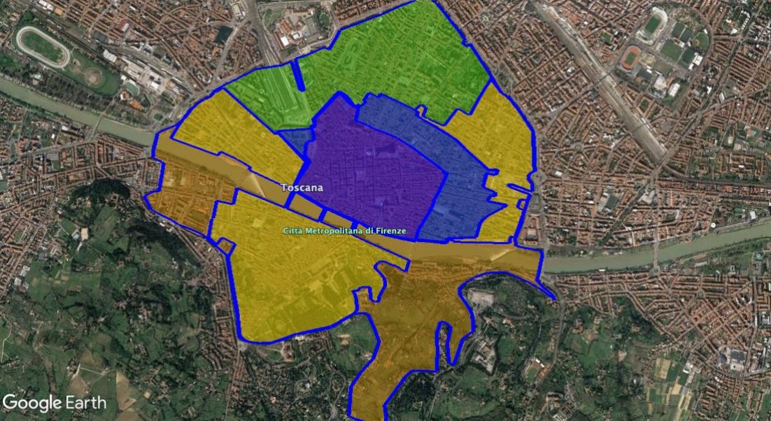 Ztl Firenze Cartina.Ztl Firenze Mappa Orari Telecamere Parcheggi