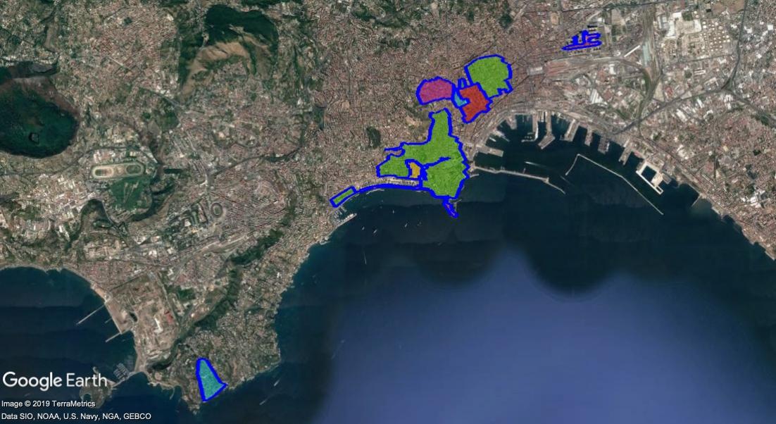 Cartina Ztl Napoli.Ztl Napoli Mappa Orari Telecamere Parcheggi