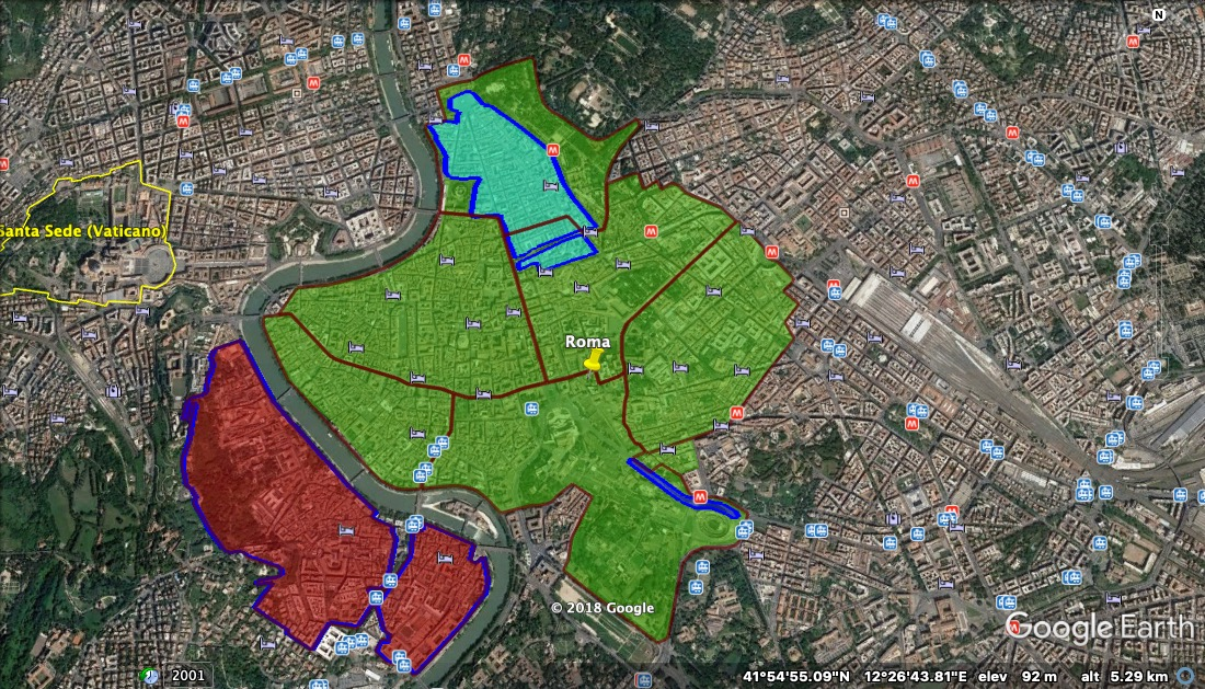 Cartina Roma E Provincia.Ztl Roma Mappa Orari Varchi Parcheggi